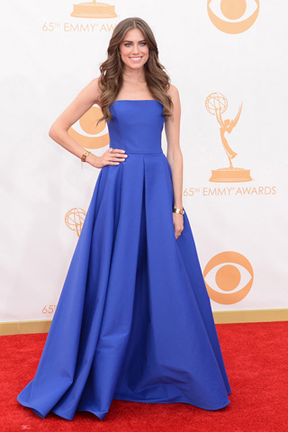 Allison Williams Emmys 2013