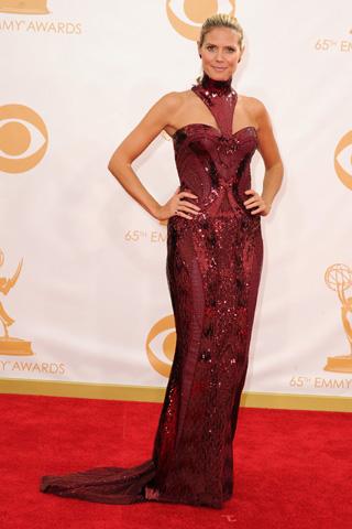 Heidi Klum Emmys 2013