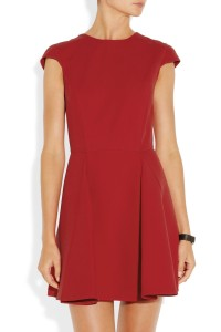 Miu Miu red dress front