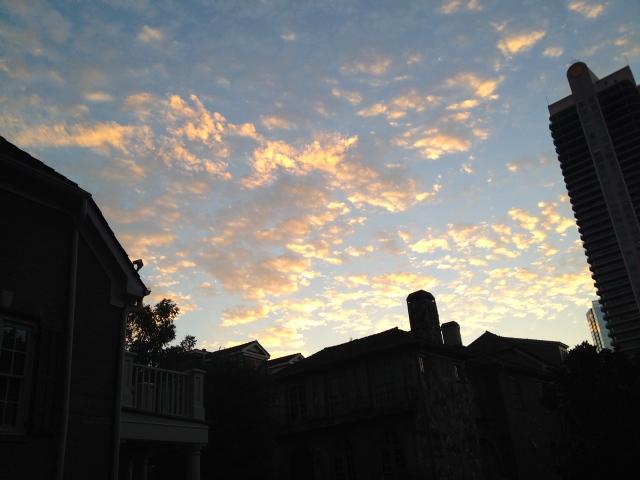 GA sunrise
