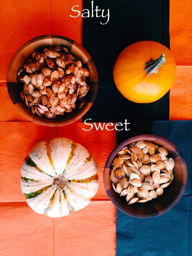 Pumpkin Seeds 2 Ways