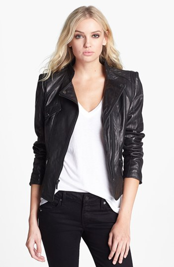 LaundryLeatherJacket