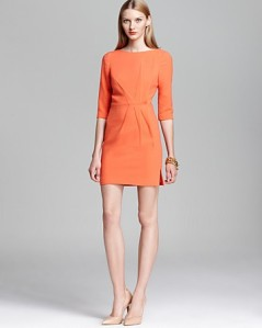 Orange Halo Mini Dress