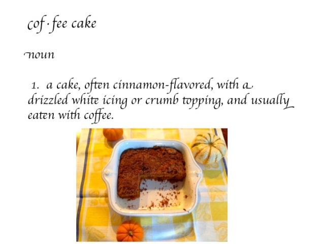 Coffee Cake Defined