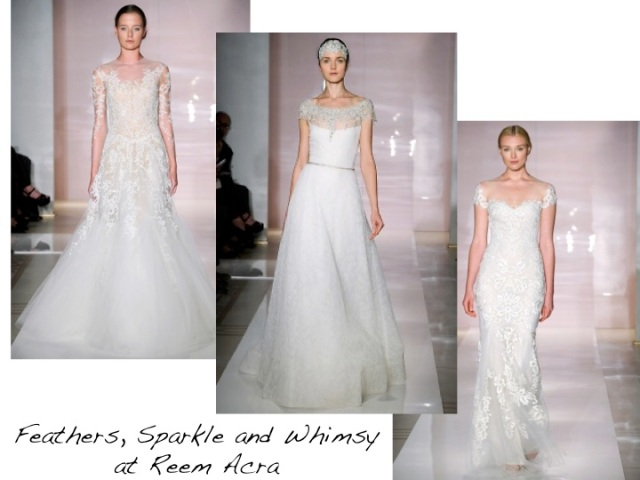 Reem Acra Bridal Fashion Week