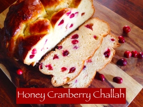Honey Cranberry Challah