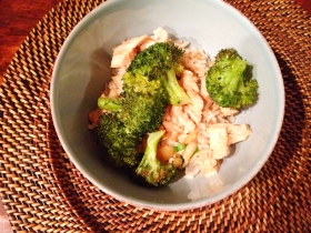 Easy Slow Cooker Chicken and Rice Bowl