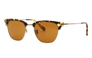 Oliver Peoples Half Rim Sunglasses