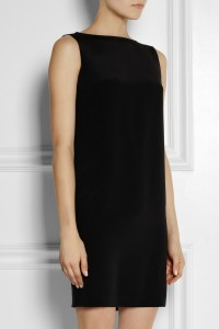 YSL silk mini dress front
