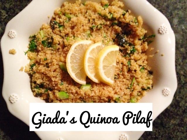 Giada's Quinoa Pilaf