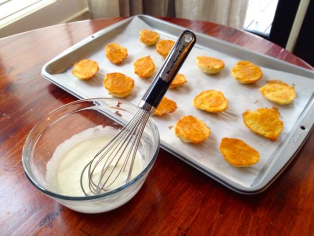 Mini Black and White Cookies