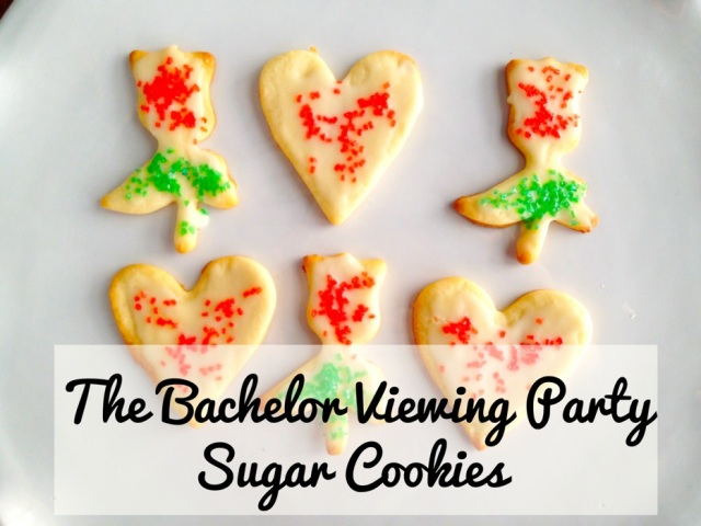 The Bachelor Sugar Cookies