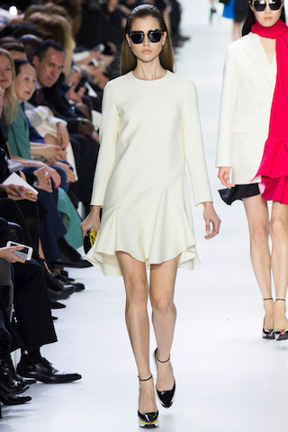 Christian Dior Little White Dress
