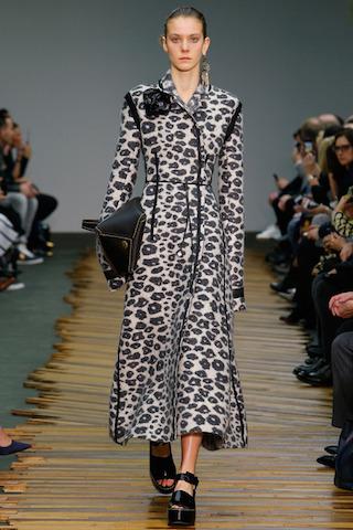 Leopard Coat Celine