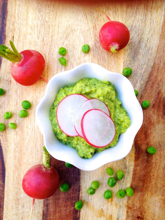 Spring Green Pea Hummus