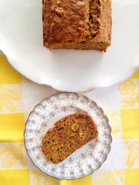 Golden Zucchini Bread