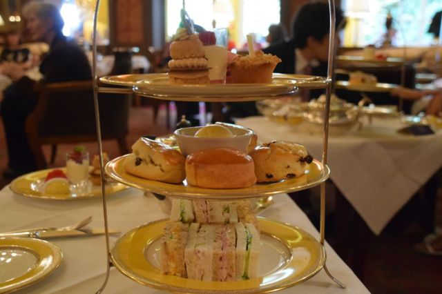 Tea at the Goring Hotel