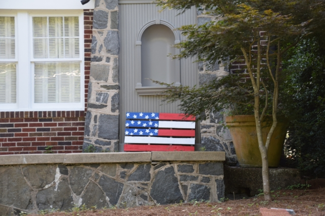 American Flags ~ Georgia Peach on My Mind
