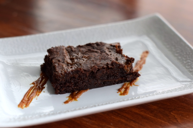 World Cup Party ~ Dulce de Leche Brownies