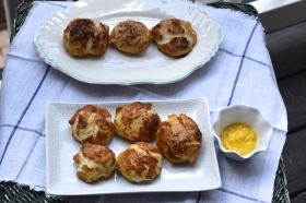 World Cup Party ~ Salty and Sweet Pretzel Rolls